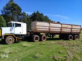 Truck and trailor for sale