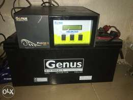 Used Inverter and Battery