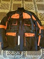 Motorcycle Jacket, Top Box & Luggage Plate