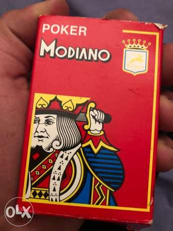 modiano deck of cards