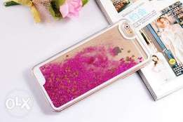 Glitter liquid cases available