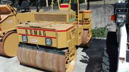 bomag roller 5 tonnes and equipments