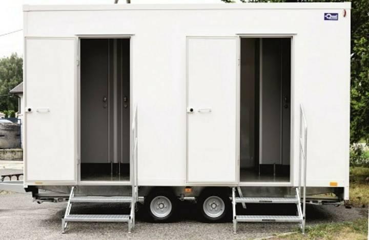 Hofmann neu toilettenanhänger  420x230x230cm 2t