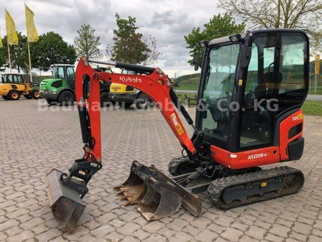 Kubota Kx 019-4, Bj 17, 400 Bh, Powertilt Ms01, 2 Tl Gl - 2017