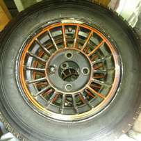 Nissan 1400 MAGS with tyres R1000