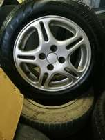 """14"""" Oem Toyota Mags & Tyres"""