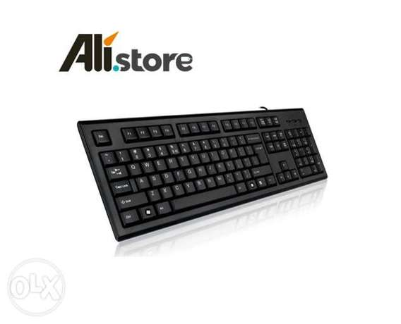 A4Tech USB Basic Standard Wired Keyboard for Laptop PC