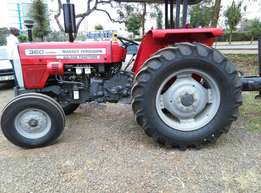 MF 360, 60 Horse Power with Perkins Engine,3 Disc Plough,Delivery