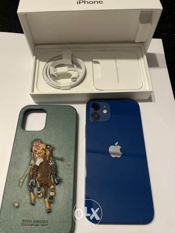 iphone 12 256 GB mint condition with sealed accessories