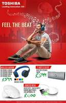 Feel the beat with Toshiba