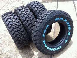 265/75R16 brand new Maxxis tyres bighorn M/T