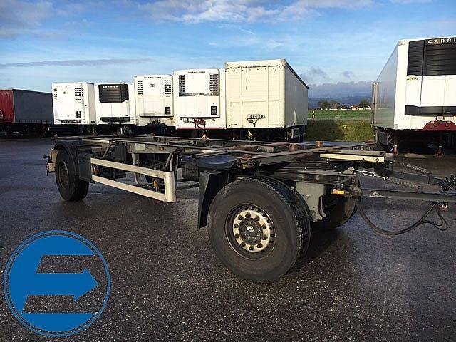 Schmitz Cargobull 18 Wechselaufbau - 2013