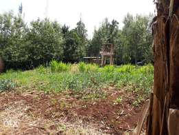 1/2 acre for sale in Kiserian at the foot hills of Ngong.