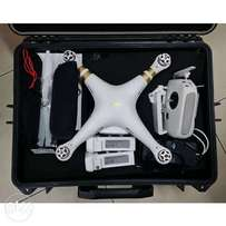 Phantom 3 4K Drone Camera With Bag, Spare Battery and Accessories