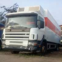 Scania cold room 24 feet long with AC and separate engine for d cooler