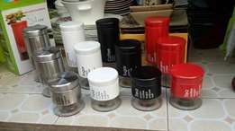 Suger.paste and tea holders