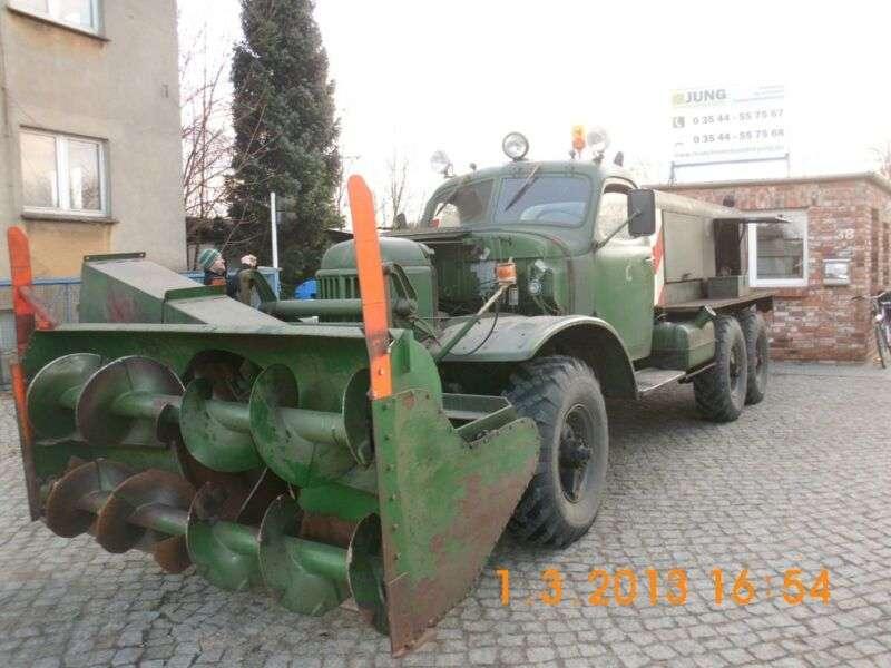 Sil 157 Schneefräse - 1970