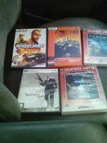 5 PC games 4 sale