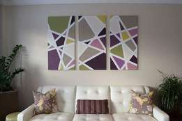 Geometric Modern Wall Art