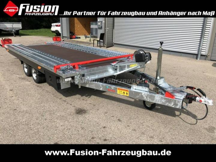 Kippbarer PKW-Transp. 500x209cm, 2.700kg, Lochbl - 2018