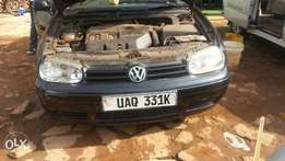 Golf 4 still intact at a give away price