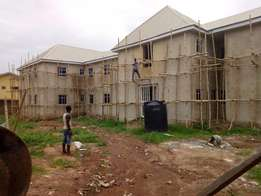 For Sale: Nearly Completed Block of 16-No Mini Flats, New Haven, Enugu