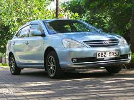 2007 toyota allion KBZ,with genuine 44000km