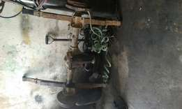 Nissan 1 tonner diff with leaf springs