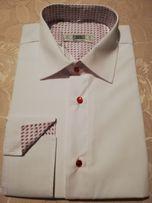 Biała koszula Darex Dąbrówka • OLX.pl
