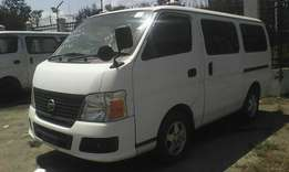 Nissan Caravan manual diesel engine.