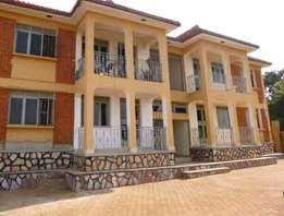 2bedroom apartment in Ntinda at 600k with water heater