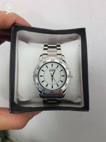 A One Collection Mens Gents Fashion Watch White