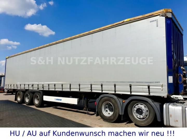 Krone Profi Liner BPW Trom. Edscha Schiebeplane Koniki - 2012