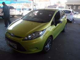 2009 Green Ford Fiesta 1.4 Ambiente