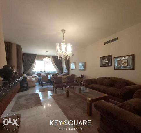Beautiful and very spacious apartment in Broummana. Furnished !