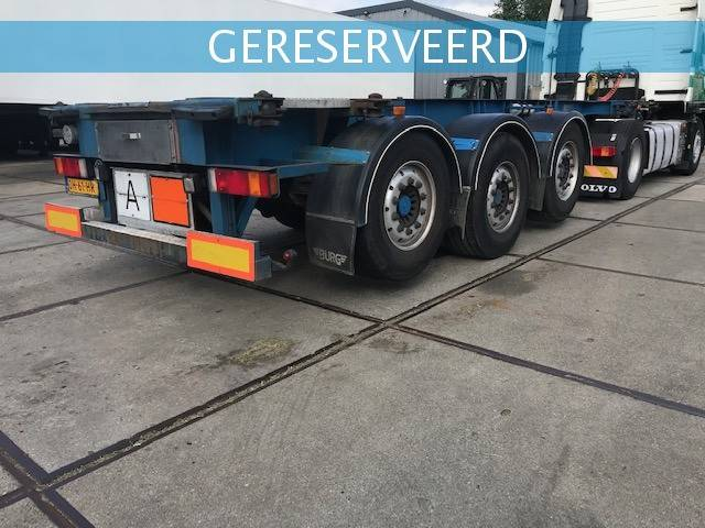 Burg 20 ft ADR containerchassis-2x lift BPO 12-27 CCXAX - 2003