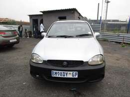 2000 Corsa utility ,grey in color , 4 doors , 240 000km ,for sale