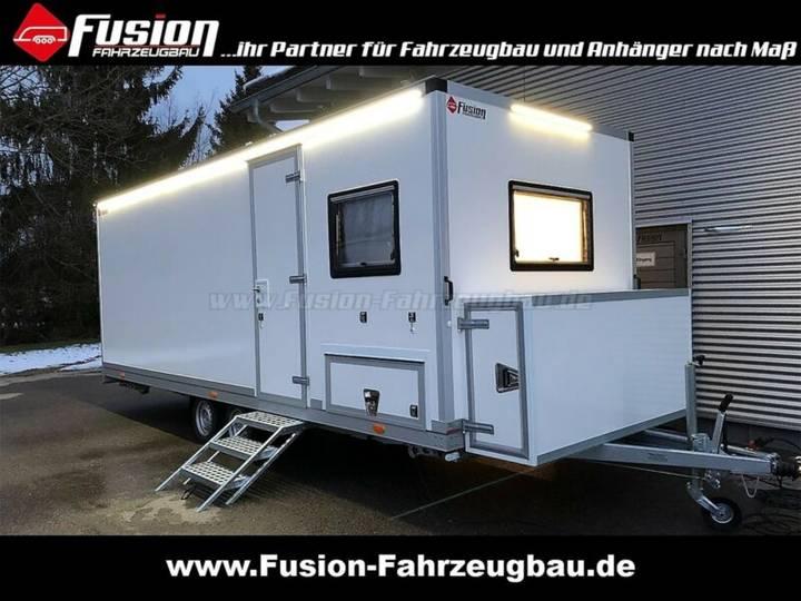 Mobile Sanitäts-Station / Wache / Einsatzleitung