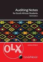 Notes to Auditing for South African Students