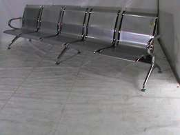 5 Seater steel bench