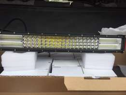 22inches Quad row led bars 384w