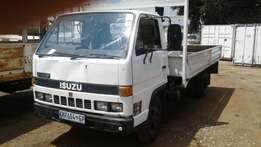 ISUZU N 3000 truck, fitted with dropside body