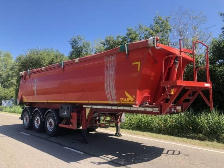 Stas kipper 3 asser lift-as ALU rolzeil 35m3 - 2012