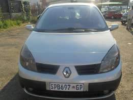 2005 Renault scenic 1.6 with 62000km