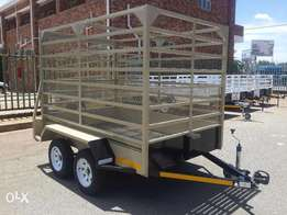 Cattle Trailer For Sale Brand New Papers And VERIDOT INCLUDED!