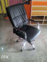 DFG Durable Staff Office Leather Chair