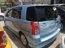 Toyota Raum skyblue KCN number 2010 model