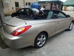 8 months used Solara Convertible