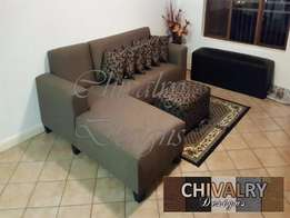Cherise L BRown Sofa: for only R3400.00