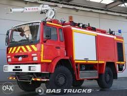 Renault Fire Truck Sides Vim 24 - To be Imported